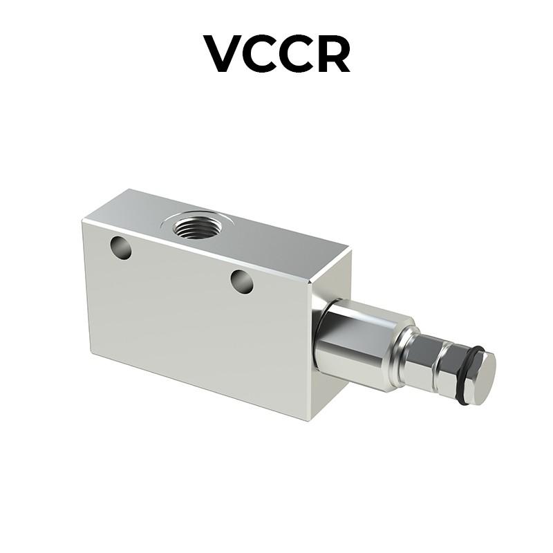 Valvola di bilanciamento singola per centro chiuso VCCR