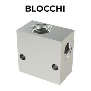 BLOCCHI - Corpi valvola con cavità SAE