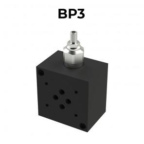 Base CETOP 3 singola in alluminio BP3