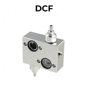 Valvole antiurto doppie incrociate flangiate DCF