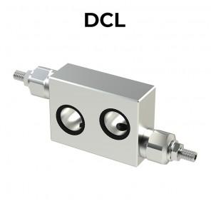 Valvola antiurto doppia incrociata DCL