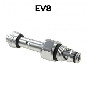 EV8 Valvole elettrica a cartuccia 2/2 pilotata bidirezionale SAE8