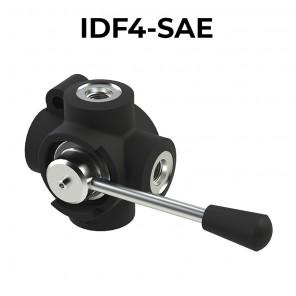 Deviatori di flusso oleodinamici a 4 vie IDF4-SAE