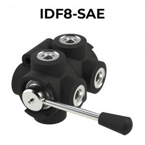 Deviatori di flusso rotativi a 8 vie IDF8-SAE