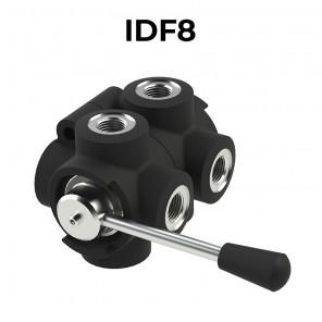 Deviatori di flusso rotativi a 8 vie IDF8-BSPP