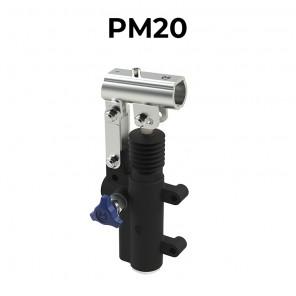 Pompa oleodinamica manuale staffabile a cilindrata 20 cm3 PM20