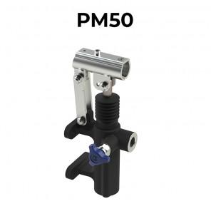 Pompa oleodinamica manuale staffabile a cilindrata 50 cm3 PM50