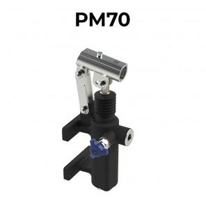 Pompa a mano idraulica staffabile a cilindrata 70 cm3 PM70
