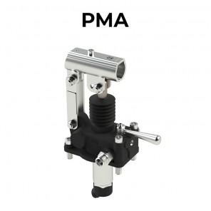 Pompa oleodinamica manuale per fissaggio a serbatoio serie PMA