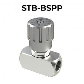 Valvola di regolazione di flusso STB-BSPP