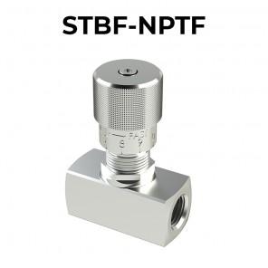 Valvola di regolazione di flusso STBF-NPTF