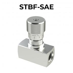 Valvole bidirezionali di controllo flusso a pomello STBF-SAE