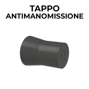 Tappo antimanomissione in plastica