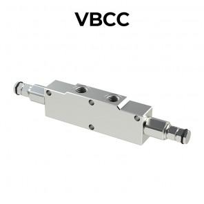 Valvola overcenter doppia per centro chiuso VBCC