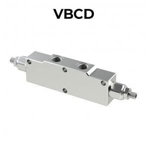 Valvola overcenter doppia per centro aperto VBCD