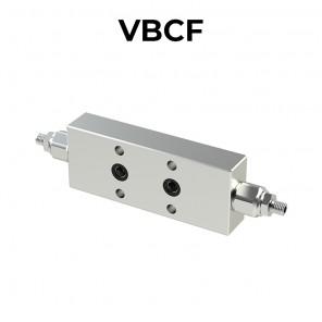 Valvola di bilanciamento doppia flangiata per centro aperto VBCF