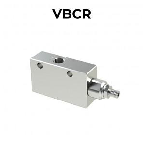 Valvola di bilanciamento singola per centro aperto VBCR