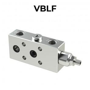 Valvola di bilanciamento singola flangiata per centro aperto VBLF