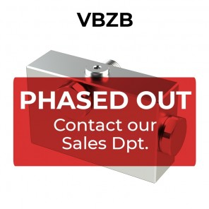 Valvola di bilanciamento singola per centro aperto VBZB
