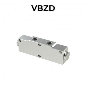 Valvola di bilanciamento doppia in linea per centro aperto VBZD
