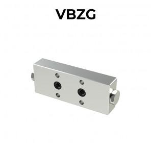 Valvola di bilanciamento doppia flangiata per centro aperto VBZG