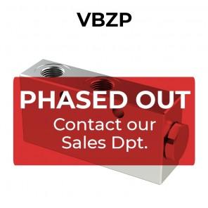 Valvola di bilanciamento singola per centro aperto VBZP