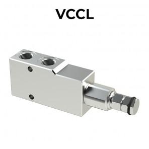 Valvola di bilanciamento singola per centro chiuso VCCL