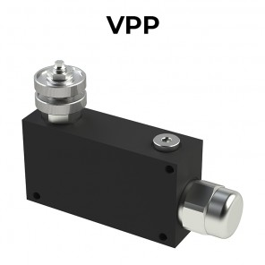 Regolatori di flusso a 3 vie compensati, con eccedenza in pressione VPP