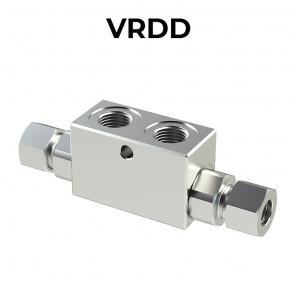 Valvole di blocco pilotata doppia VRDD