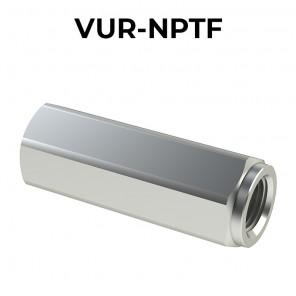 Valvole unidirezionali F/F VUR-NPTF