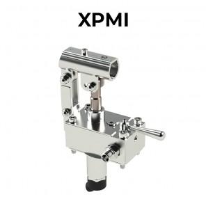 Pompe a mano in acciaio inossidabile AISI316L per fissaggio a serbatoio serie XPMI.