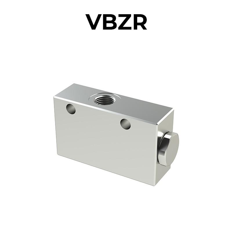 Single counterbalance valve for open center VBZR