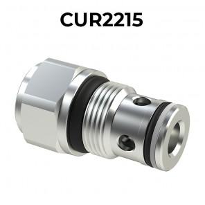 CUR2215 Cartridge check valve M22x1,5