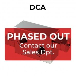 DCA double cross line direct acting relief valve