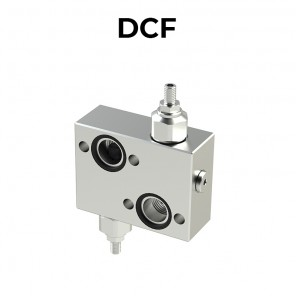 DCF flanged double cross line direct acting relief valves