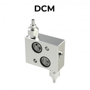 DCM double cross line direct acting relief valve