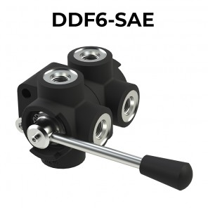 DDF6-SAE 6 ways flow diverters – BSPP threads