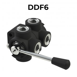 DDF6 6 ways flow diverters – BSPP threads