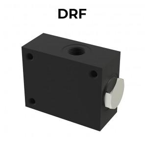 DRF flow diverter/combiner valves