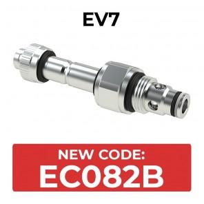 EC082B Cartridge electric valve 2/2 pilot acting SAE8