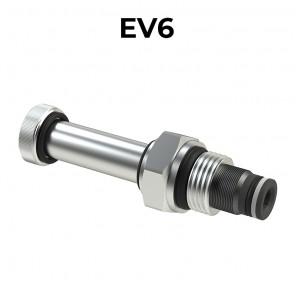 EV6 cartridge electric valve 2/2 direct acting SAE8