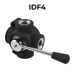 4 ways flow diverters IDF4-BSPP