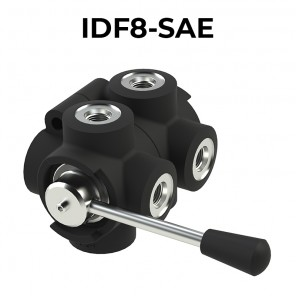 8 ways flow diverters IDF8-SAE