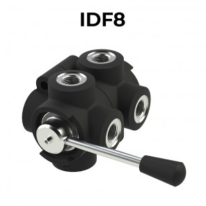 8 ways flow diverters IDF8