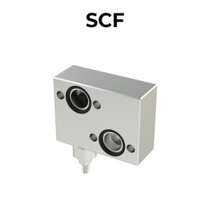 SCF single cross line direct acting relief valve
