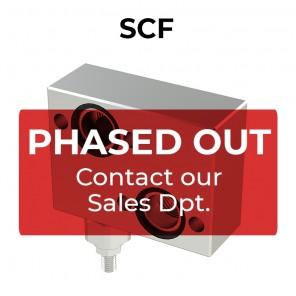SCF single cross line direct acting relief valve