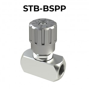 STB-BSPP flow control valves