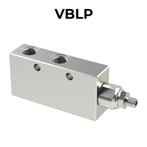 Single counterbalance valve for open center VBLP