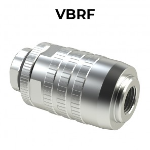 Bidirectional flow control valve VBRF