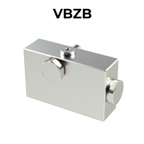 Single counterbalance valve for open center VBZB